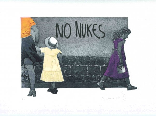 THE WRITING ON THE WALL (NO NUKES)
